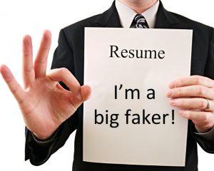 resume liar