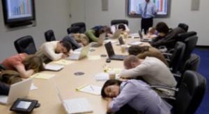 Death by meetings Sales Meeting!