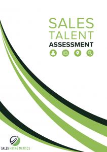 sales hiring report